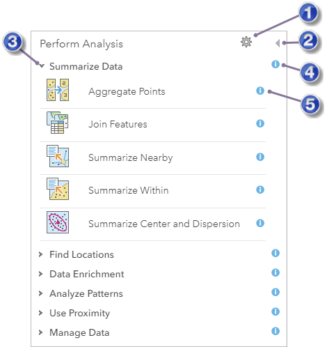 Use the analysis tools—ArcGIS Online Help | ArcGIS