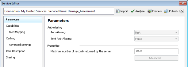 Edit feature service in arcgis desktop