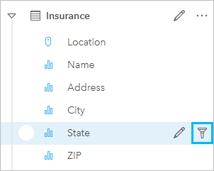 Filter data—Insights Create | ArcGIS