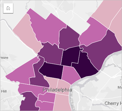 Create and use a choropleth map—Insights Create | ArcGIS