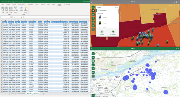 About ArcGIS Maps for OfficeArcGIS Maps for Office  ArcGIS