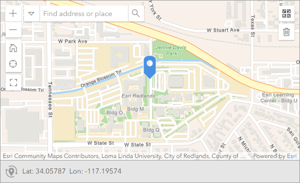 Hide-input appearance for geopoint